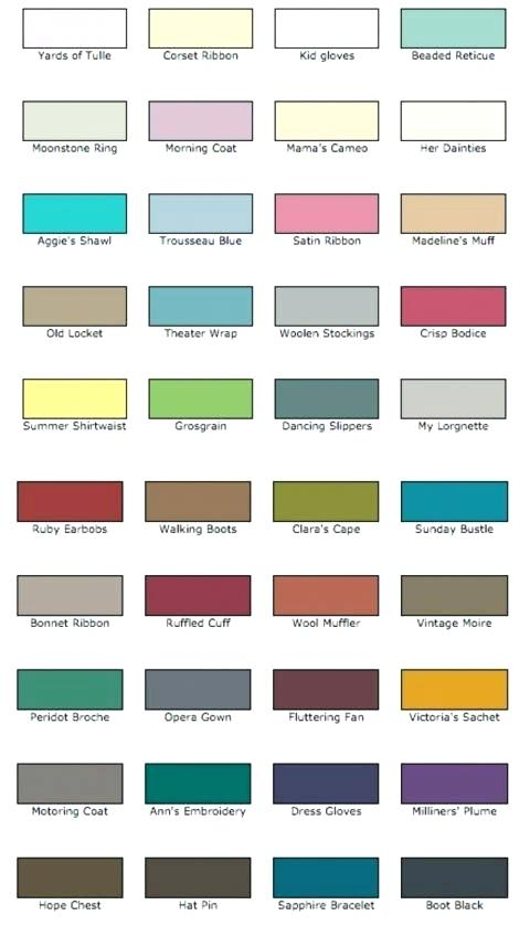 rustoleum chalk paint colors