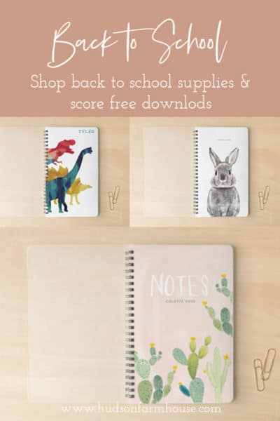 back to school shopping with minted