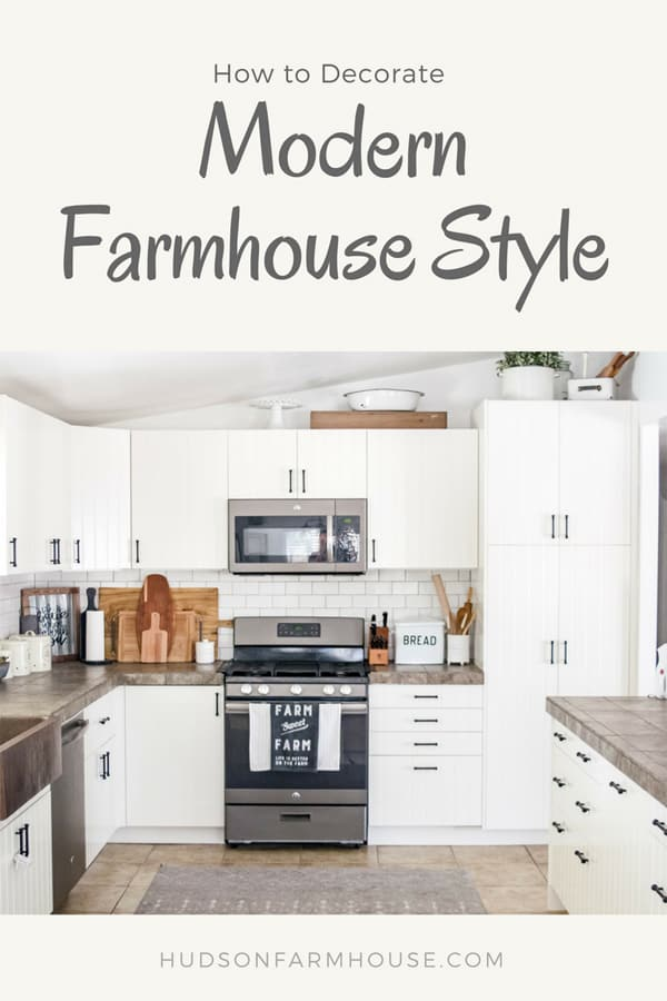modern farmhouse home decor blog