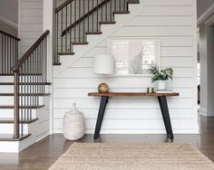 shiplap white walls