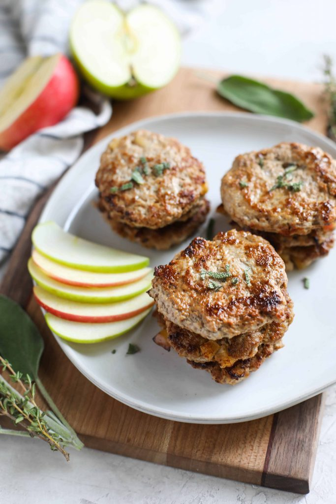 Jessica Beacom Turkey Apple Sausage Patties