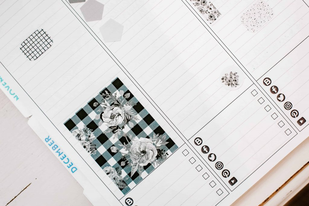 blogging planner tracker