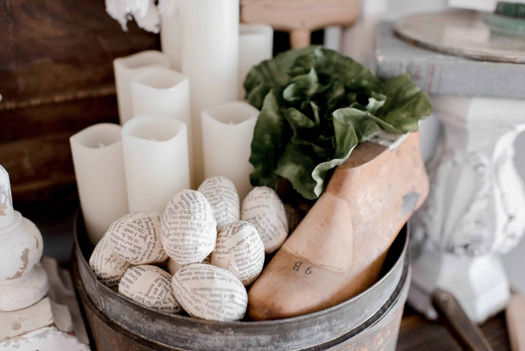 Hudson Farmhouse Egg Decor