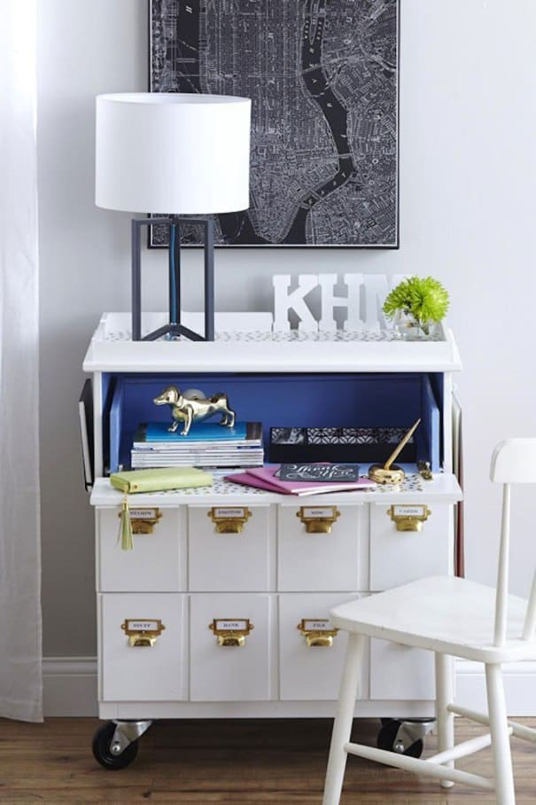Ikea moveable work space