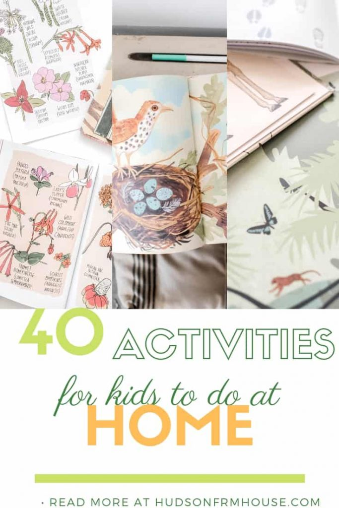 These indoor activities for kids are perfect for winter, rainy days or any time you just need to keep kids busy! Screen-free activities for all ages.