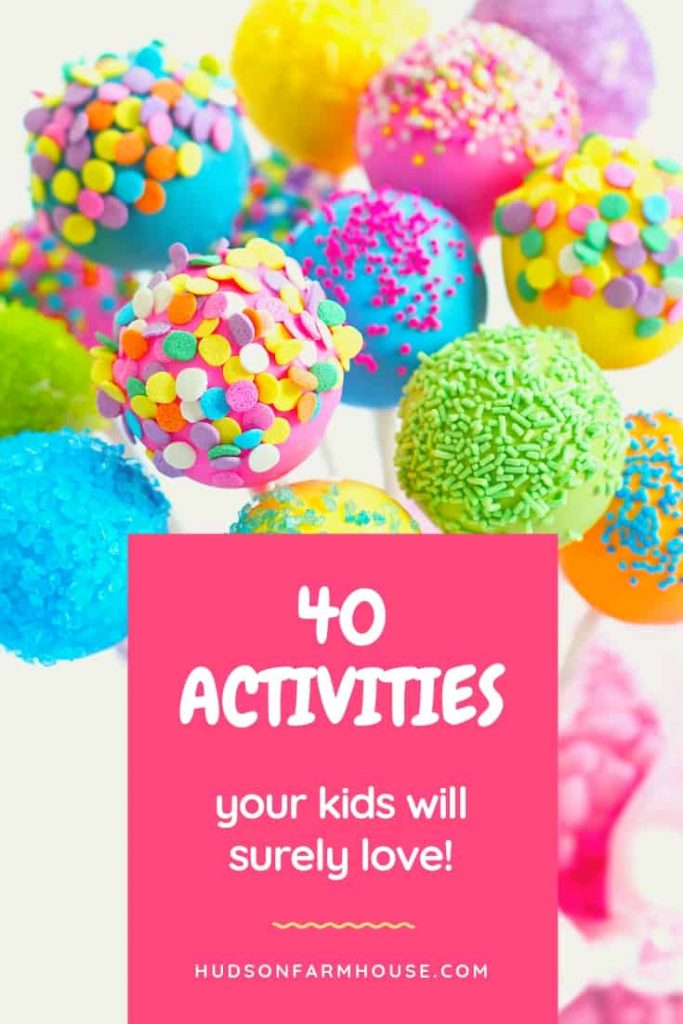 Activities for Toddlers at Home Easy, cheap or free ideas for all ages, toddlers through big kids. Free printable list. Kids activities indoor crafts for the toddler, preschool, elementary and older age boys and girls. Grab some fun, DIY, group learning games and things to do for babysitting or at home.
