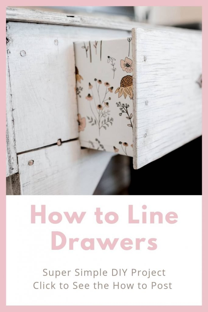 Learn how to line drawers with paper and make an old desk look even better! It was simple and a quick DIY project. No chance at a Pinterest fails on this project I promise. hobby lobby shelf paper wallpaper for inside dresser drawers how to wallpaper inside a cupboard parchment paper as shelf liner furniture lining how to upholster a dresser what is the purpose of drawer liners how to line drawers with velvet how to line kitchen drawers how to put liner in drawer how to keep drawer liners in place diy shelf liners lining dresser drawers with fabric