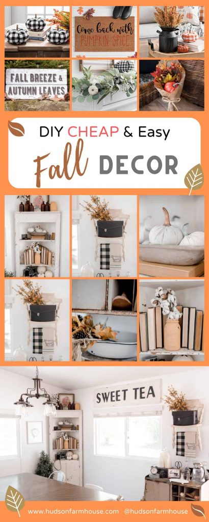 fall decor for a home