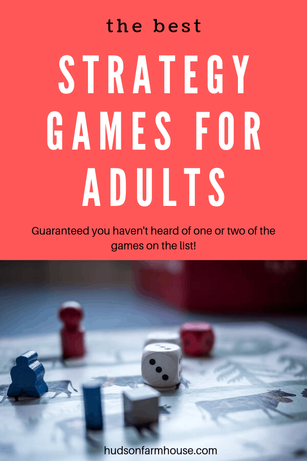 strategy games for adults