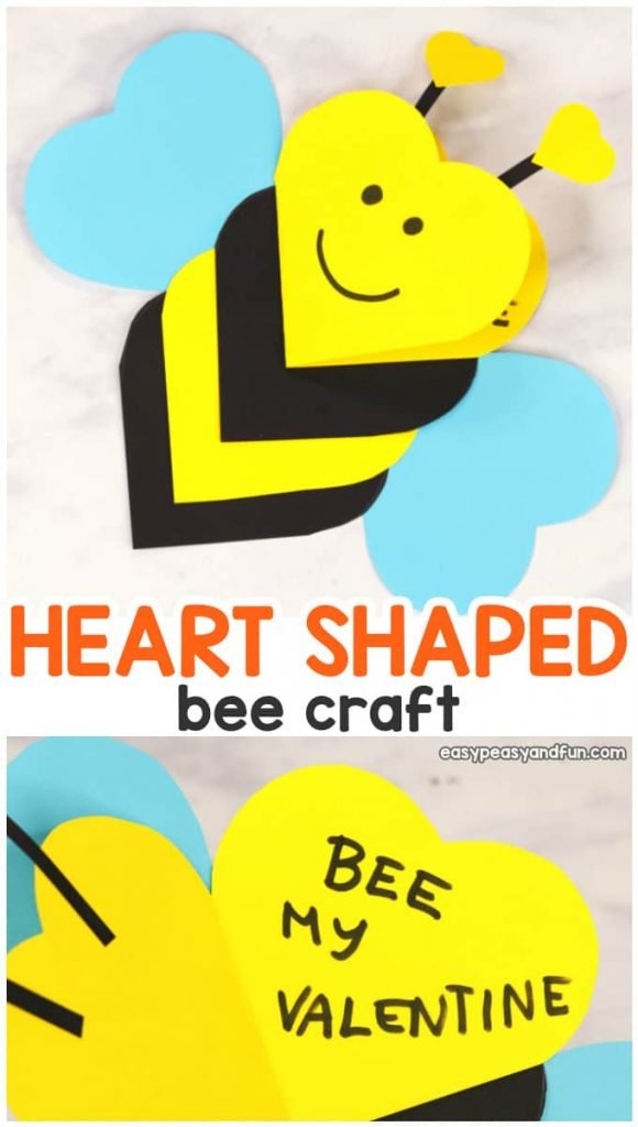 easy valentine's day kids crafts