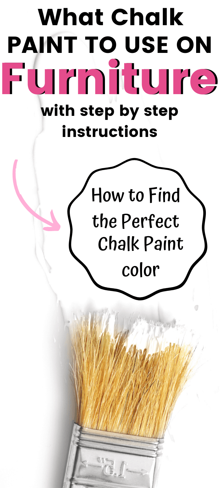 chalk paint graphic