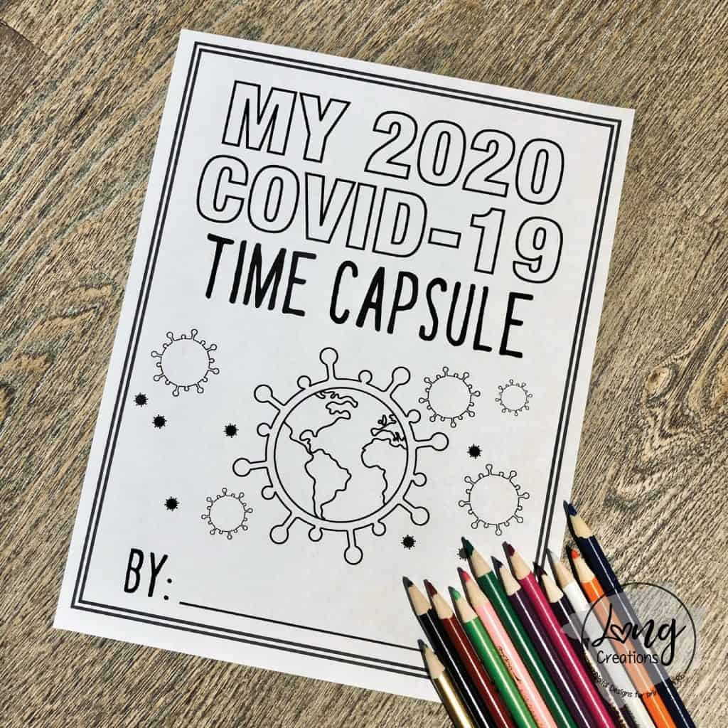 time capsule free worksheets