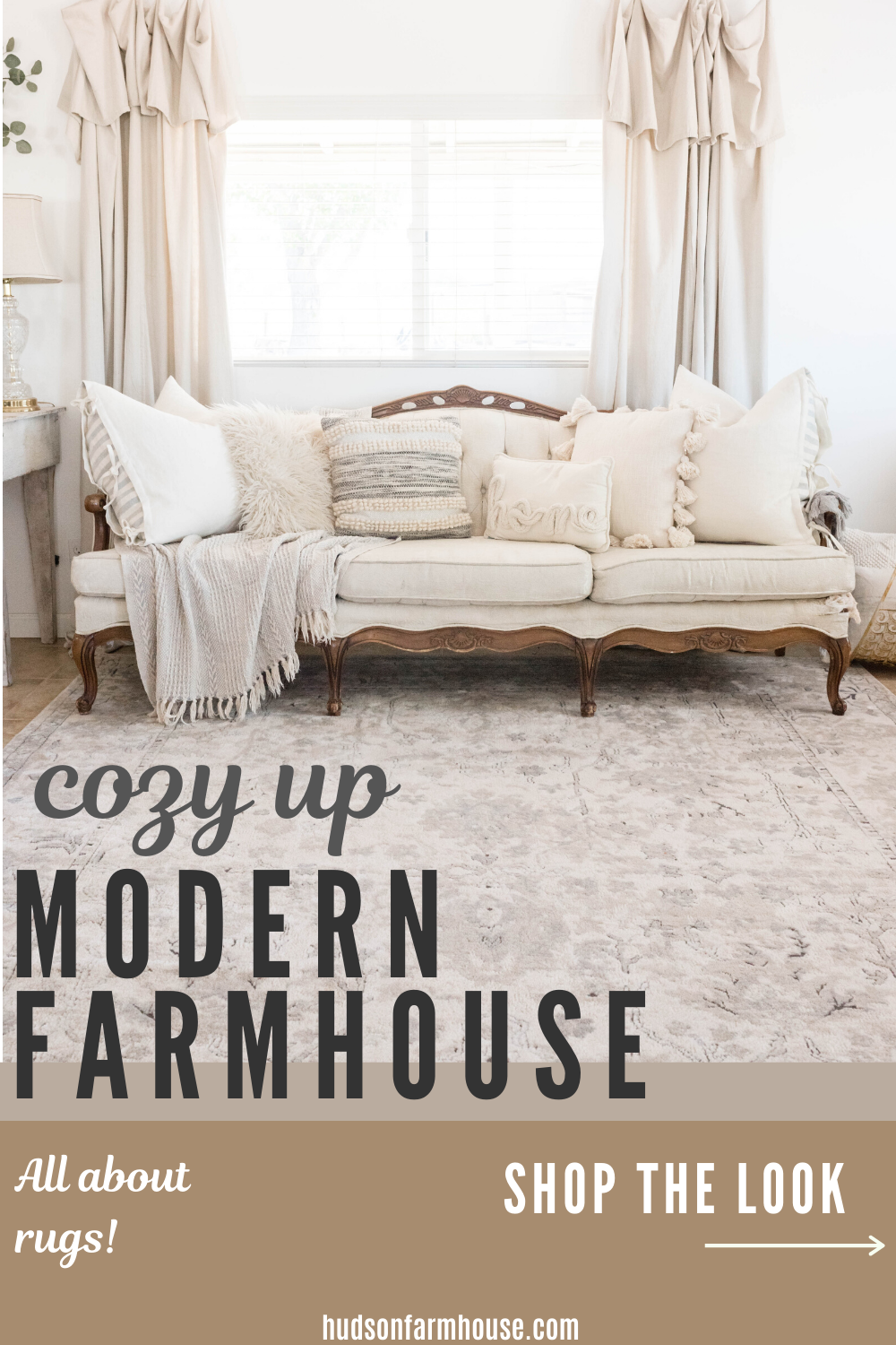 rugs in farmhouse