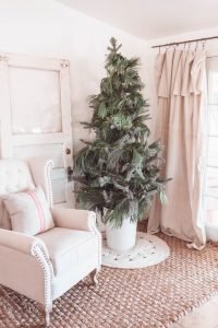 faux christmas tree