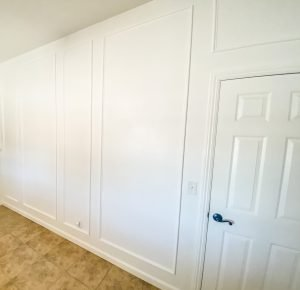 diy frame wainscoting